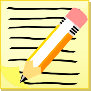 Pen clipart essay outline Art Clker at And Clip