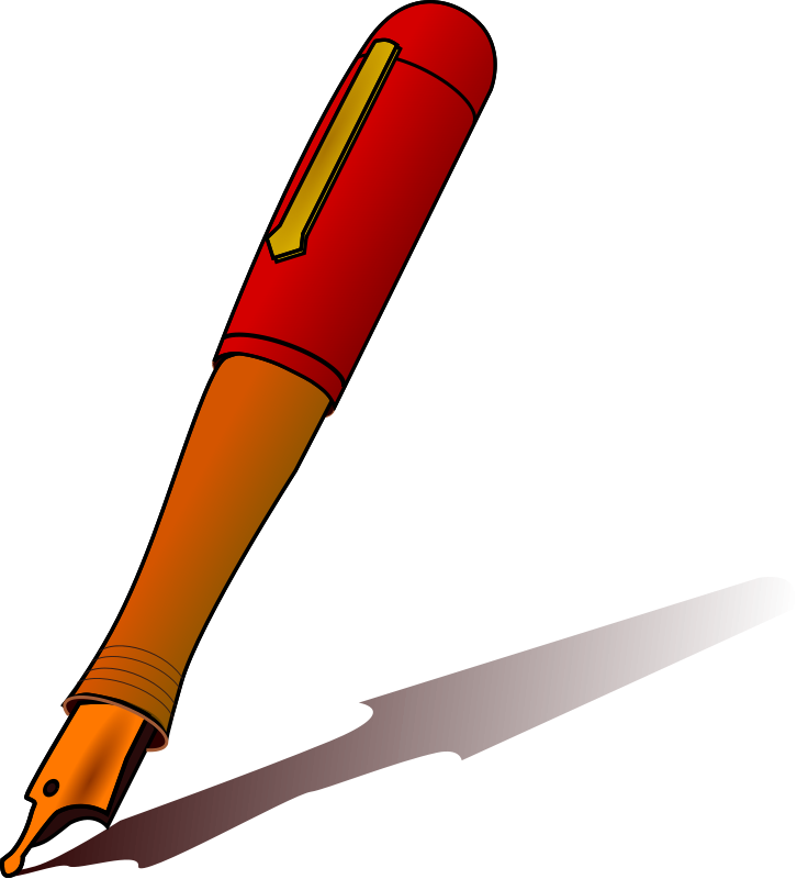 Pen clipart fountain pen Pen art Images Clipart Info