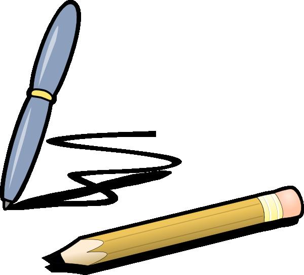 Pen clipart gambar  image Clip online Pencil