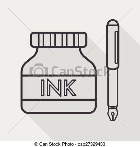 Ink clipart And icon shadow icon