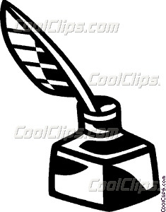 Pen clipart ink quill Ink and Clip quill art