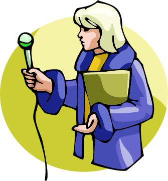 Journalist clipart broadcast journalism 20clipart Reporter Tiny #106 Reporter