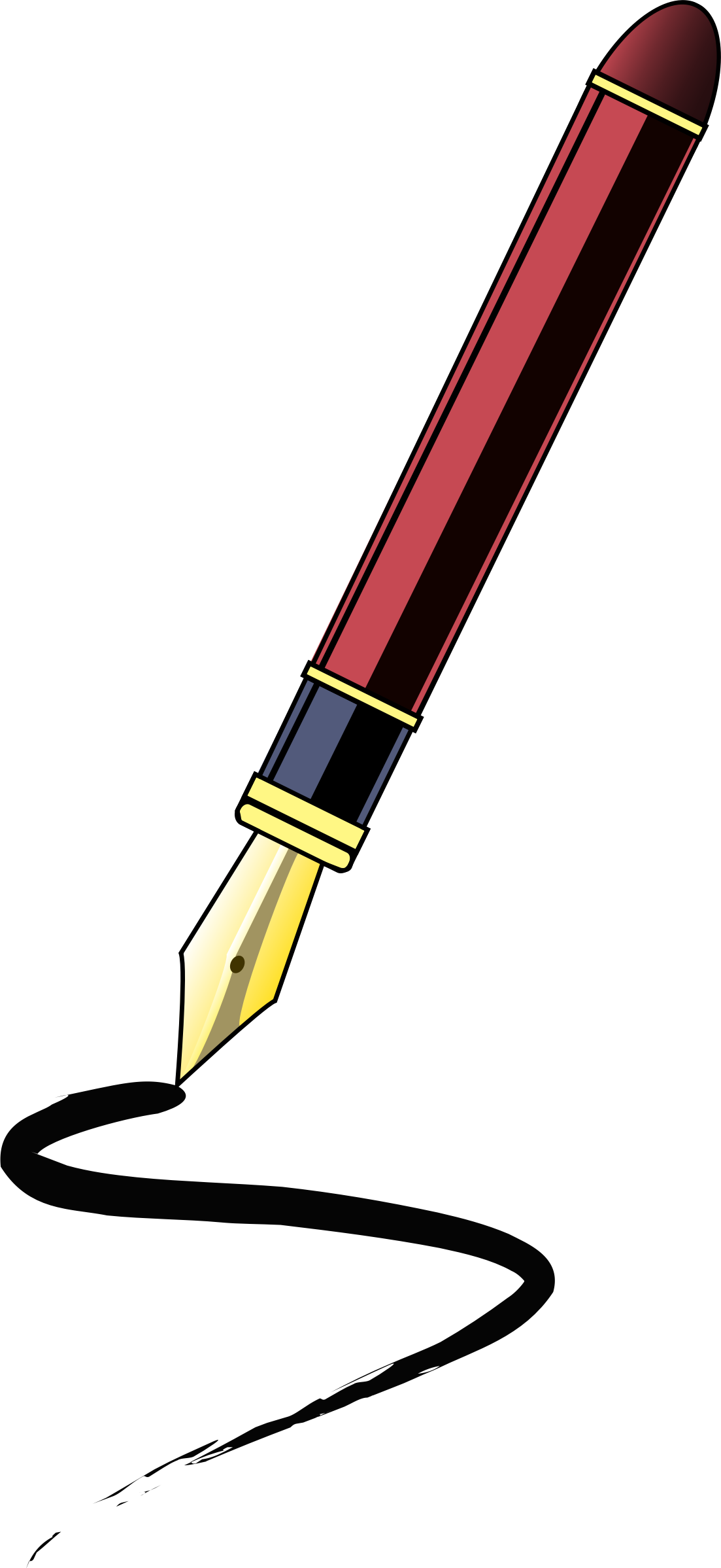 Pen clipart journalist BIG (PNG) Stylo IMAGE Clipart