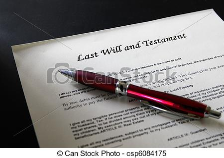 Pen clipart legal document Will Last legal and pen
