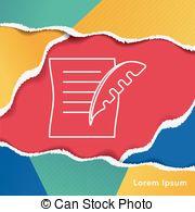 Pen clipart legal document Document Line line of Legal