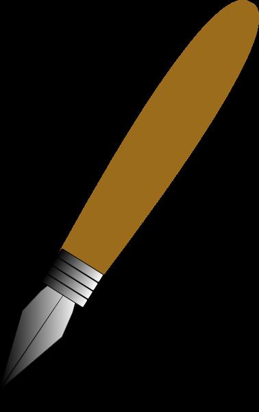 Pen clipart logo png Medium  clip Clker small