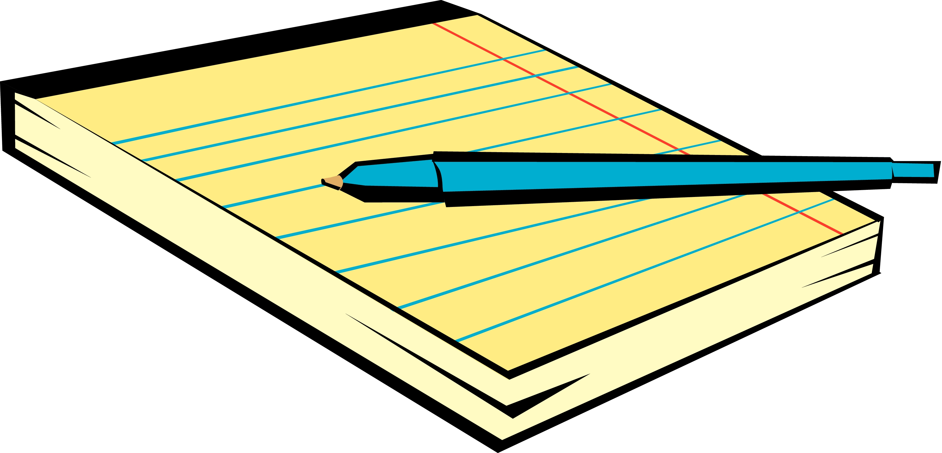 Templates  clipart notepad #5
