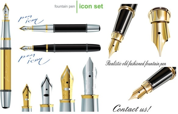Classical clipart old pen For download free use (687
