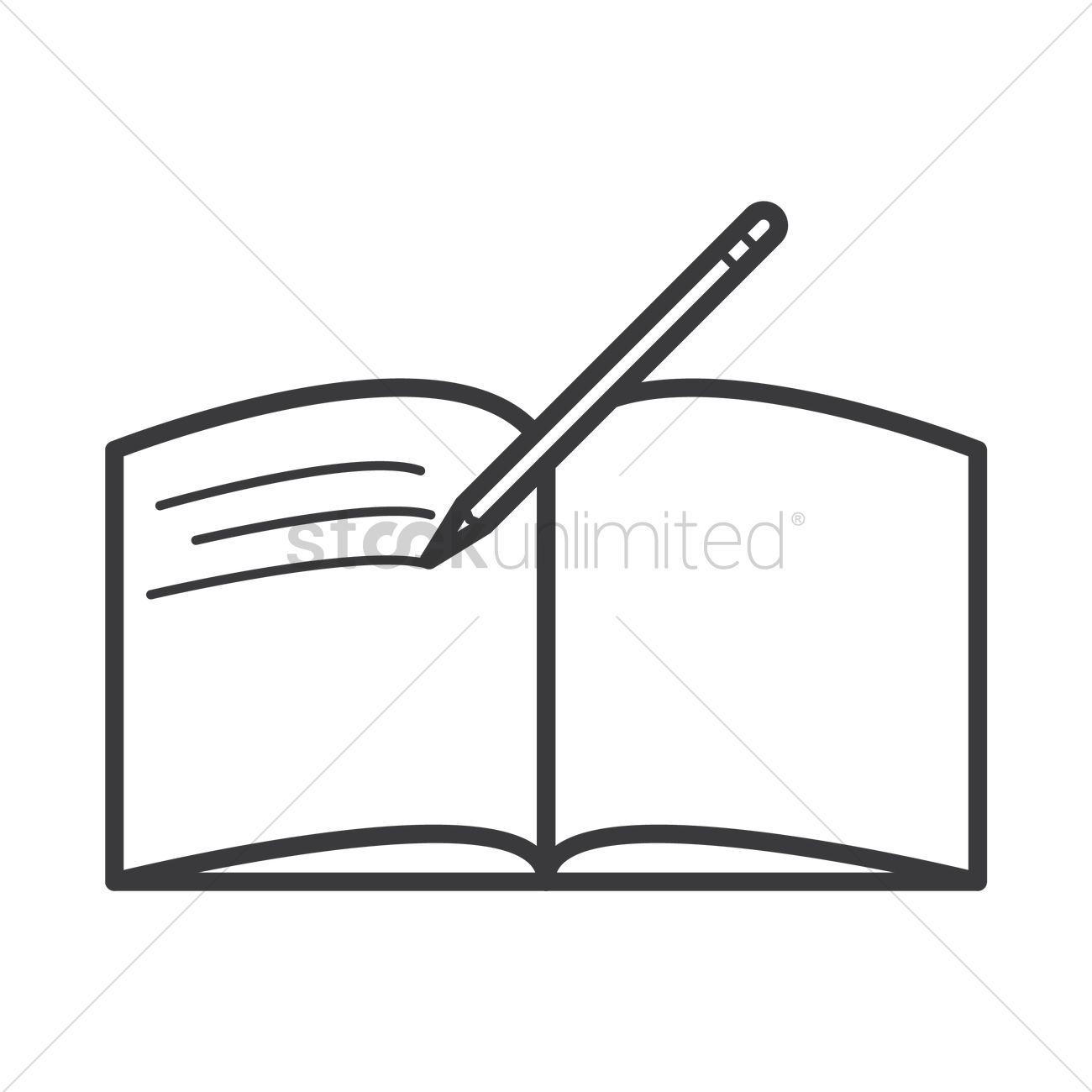 Bobook clipart pen 1577797 Vector book Image Open