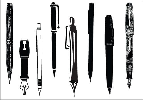 Pen clipart pecil  Art Inspiration Art Clip