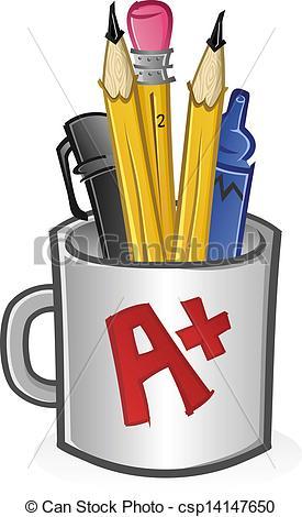 Pen clipart pecil Pen Art Pencil Clipart and