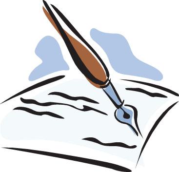Pen clipart pen paper Paper And Paper Clipart Paper