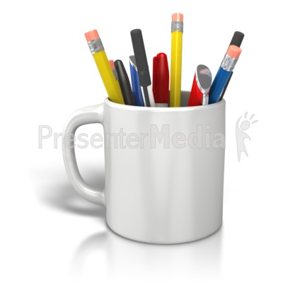 Pen clipart pen pencil For Coffee Coffee  Pencils