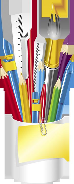 Pen clipart pencil crayon Page crayons scrap couleurs ecole