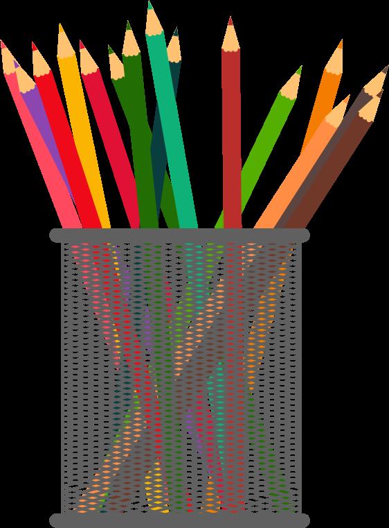 Pencil clipart jar Free Art Pencil Clip