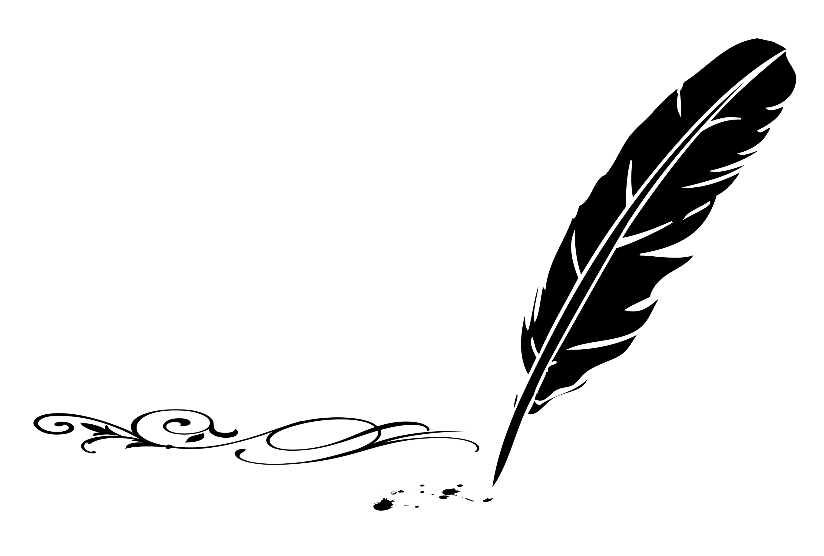 Pen clipart plume Goodwin Tracy Events Quill