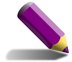 Small clipart pencil drawing School China Pencil Purple Lead