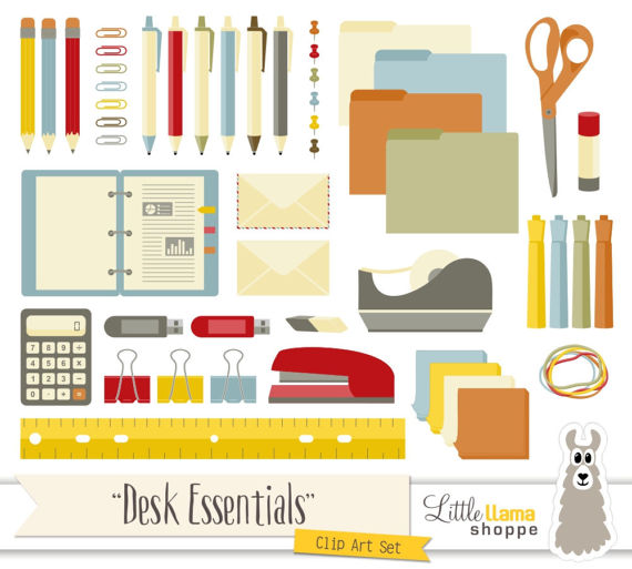 Pen clipart school supply Art Commercial Office Clipart Clip