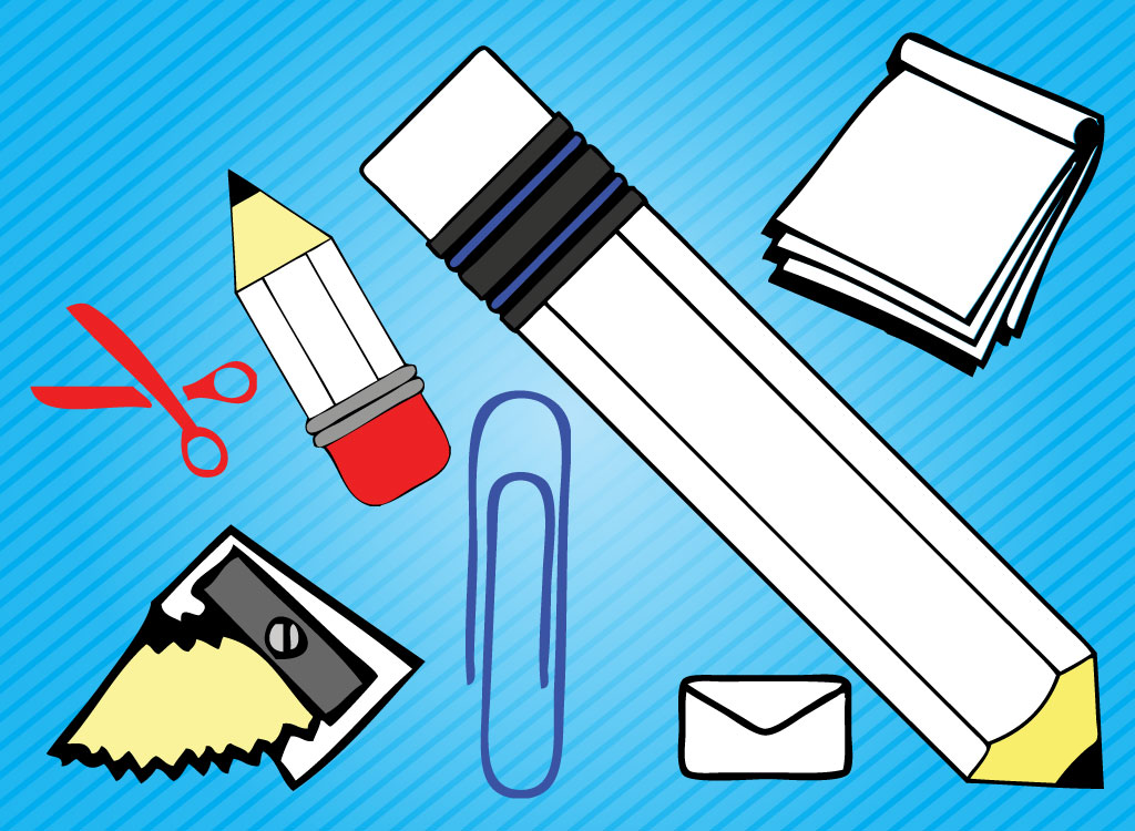 Pen clipart school supply Clip  Art Art Free