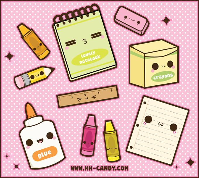 Pen clipart school supply School (ღ˘⌣˘ღ back Kawaii to