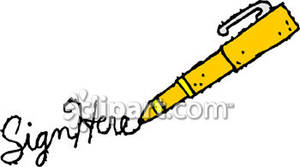 Please clipart sign here Sign Clip Art Download Here