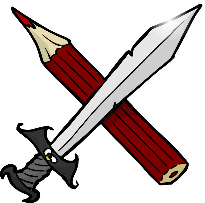 Pen clipart sword  /education/supplies/pencils/pencils_4/pen_versus_sword versus html /education/supplies/pencils/pencils_4