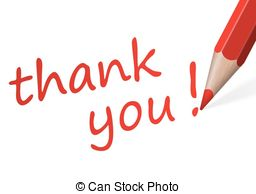 Pen clipart thankyou Vector  pen text Pen