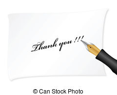 Pen clipart thankyou You pen write fountain pen