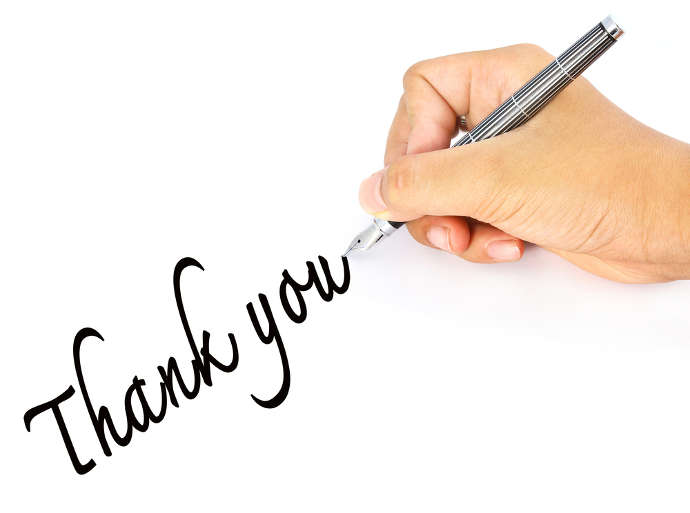 Pen clipart thankyou Writing Thread 24 You Notes
