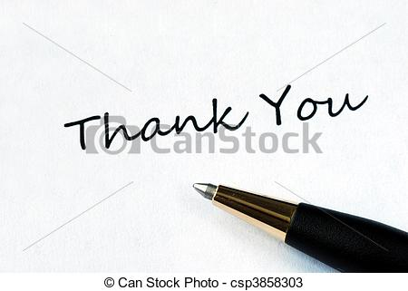 Pen clipart thankyou Thank  on Ball pen