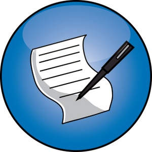 Pen clipart write letter Clipart on collection writing clipart