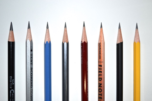 Pencil clipart eight Write with Sharpeners eight one