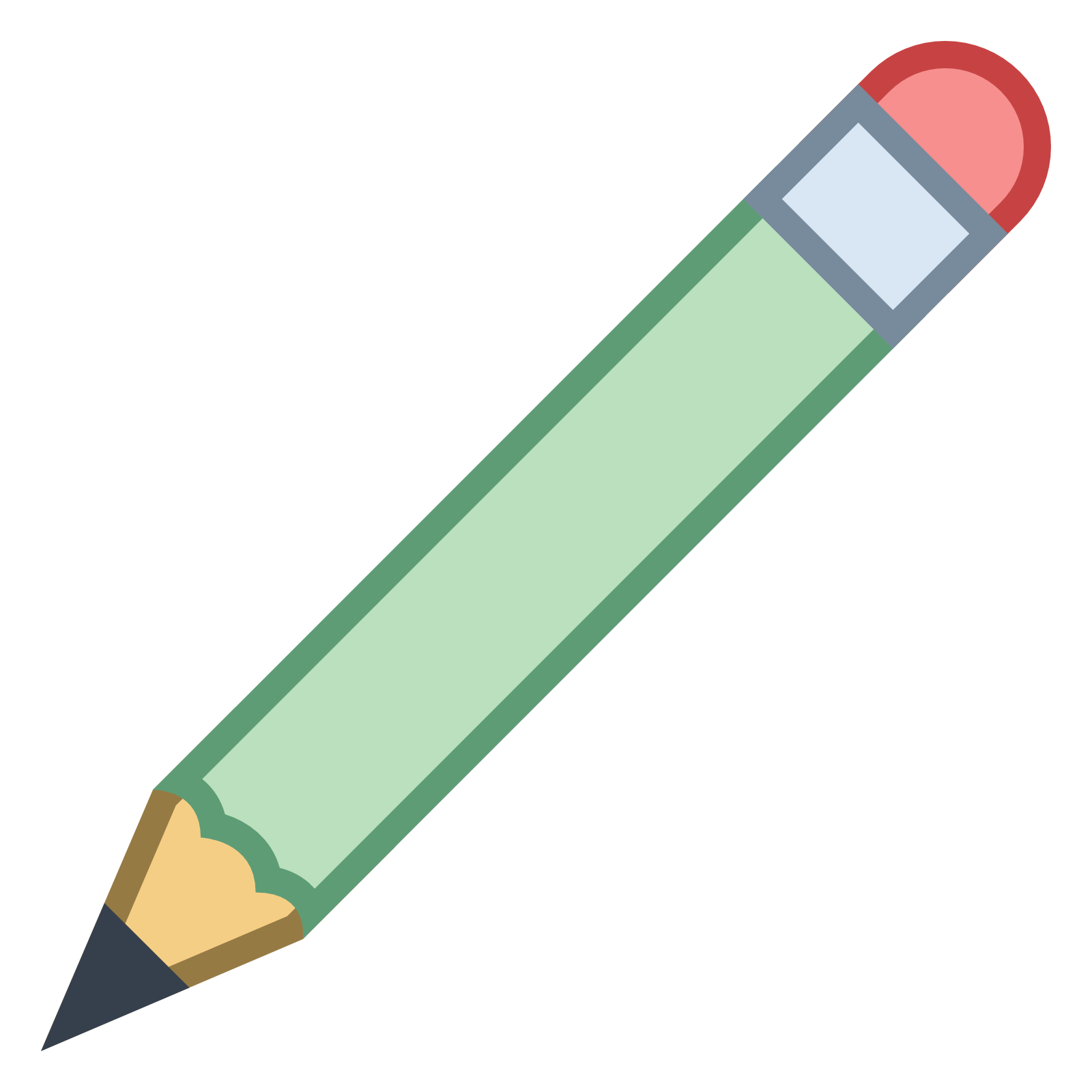 Pencil clipart four At Pencil icon Icon Icons8