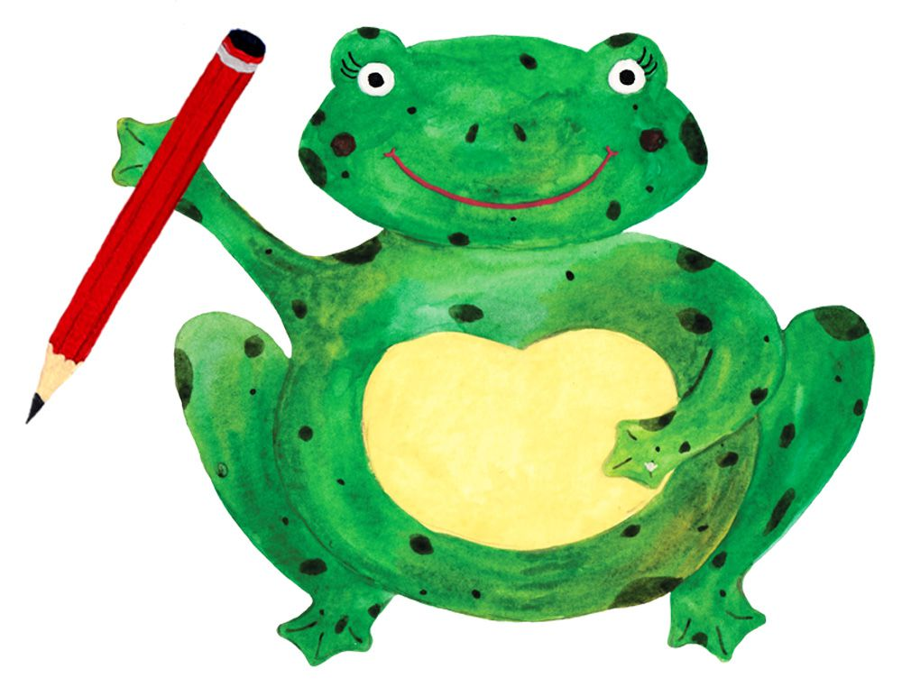 Pencil clipart frog Frog & Invites Bespoke Pencil