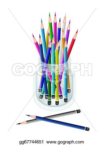 Pencil clipart jar Of  group A Group