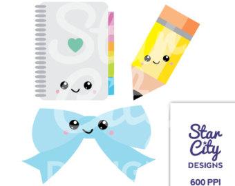 Pencil clipart kawaii Clipart school clipart clipart clipart