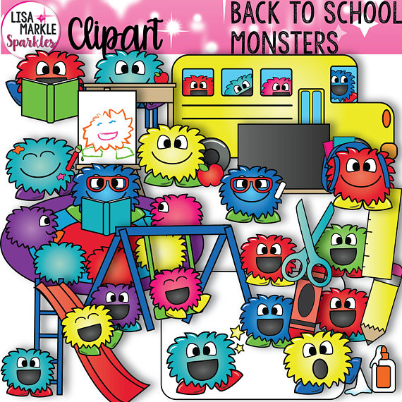 Pencil clipart monster Crayons from School Clipart Clipart