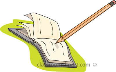 Bobook clipart pencil Classroom : : open_book_with_pencil jpg