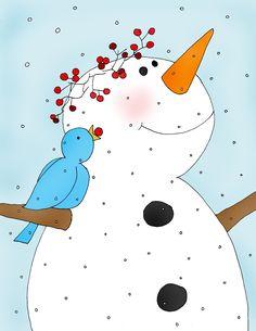 Pencil clipart snowman The It's clip  blogspot