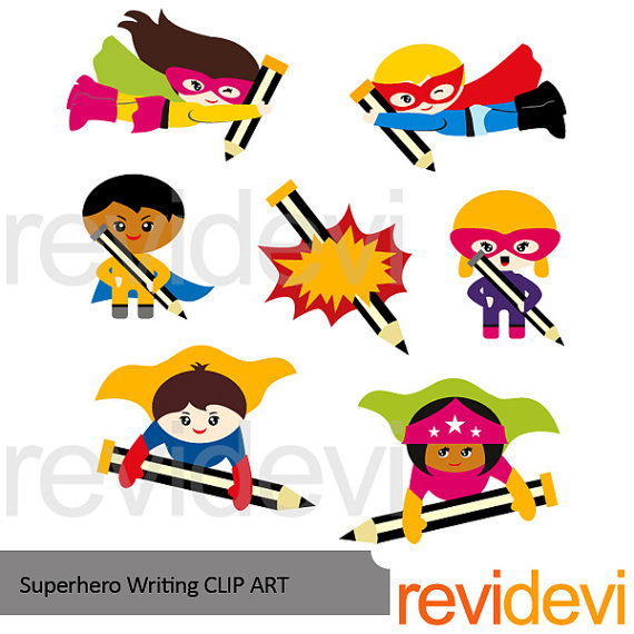Pencil clipart superhero Clipart This pencils back a
