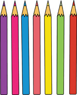 Pencil clipart three Free Pictures Size: Art Clipart