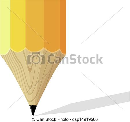 Pencil clipart tip Pencil sharpened Vector  background