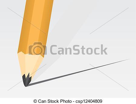 Pencil clipart tip Pencil Tip Tip csp12404809 Clipart