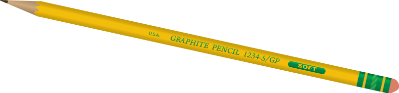 Pencil clipart transparent background Free Stock Photo : #