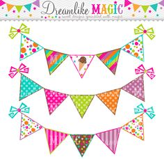 Bunting clipart triangle banner Collection Clipart Red clipart free