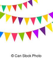 Pendent clipart banderitas Graphics Art Art EPS Pennant