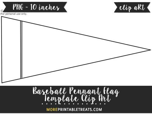 Pendent clipart baseball pennant Pennants Pinterest Flag 25+ Template