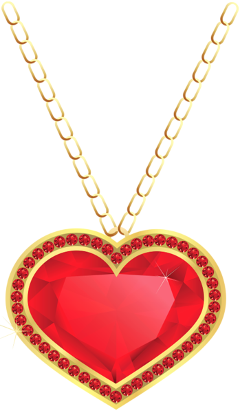 Pendent clipart beautiful heart And HEARTS PNG PNG Gold