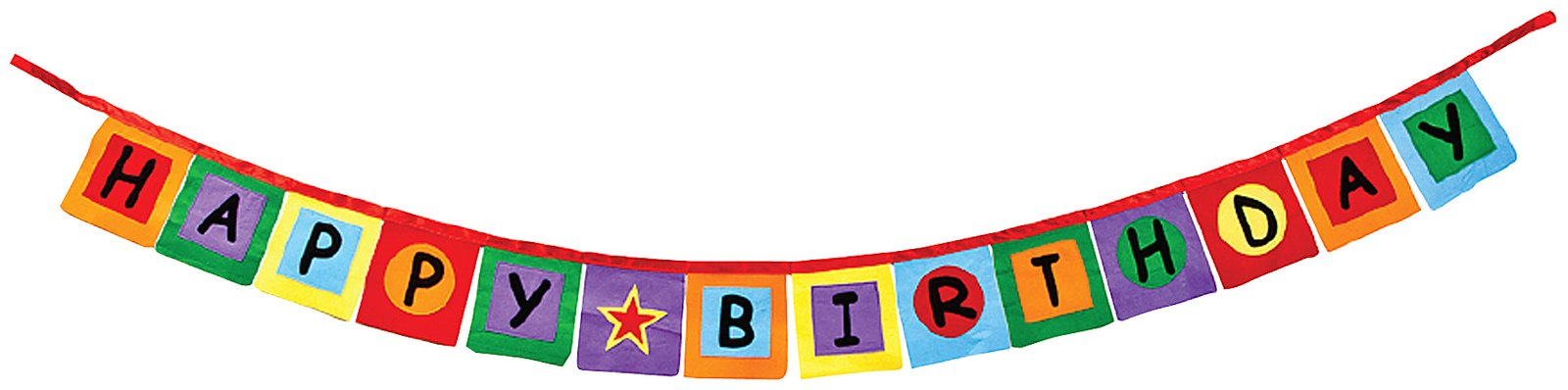 Birthday clipart pennant Art Clipart Pennant on Free