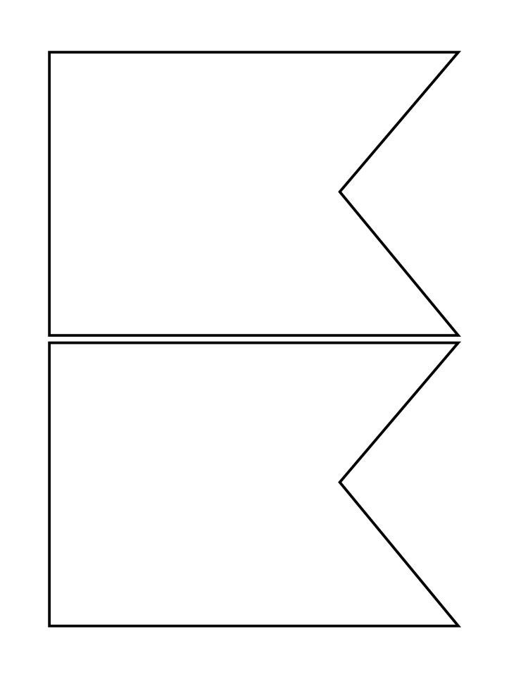 Pendent clipart blank 750×971 Bunting template jpg rTjn7pyTR